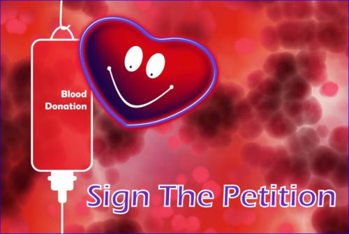 Please Sign The Blood Drive Petition